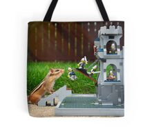 Storming The Castle Tote Bag