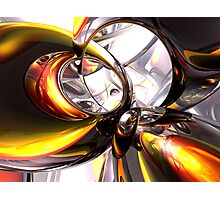 Reckless Defiance Abstract Photographic Print