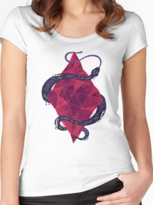 Mystic Crystal Women's Fitted Scoop T-Shirt