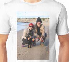 38. Alan & Brenda with Ebony the Toy Poodle Unisex T-Shirt