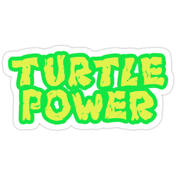 Turtle Power by Jonathan Carre