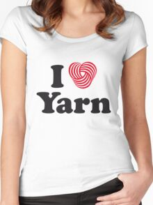 I Heart Yarn Women's Fitted Scoop T-Shirt