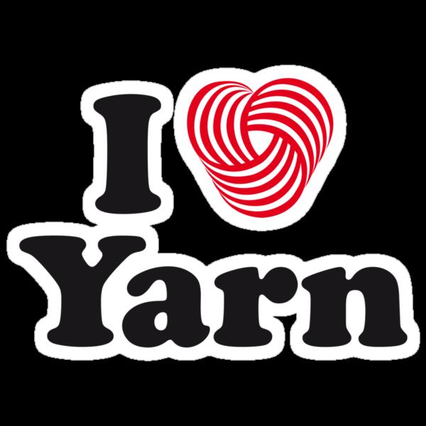 I Heart Yarn by Elaine Mackay