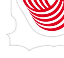 I Heart Yarn Sticker