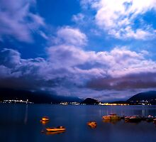 View over Como by markyhud