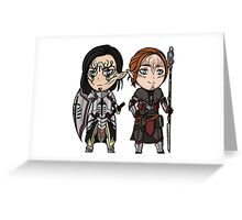 Xander and Evie Greeting Card