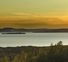 Nipigon Bay,Lake Superior by Jann Ashworth