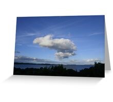 Smoke Signal Greeting Card