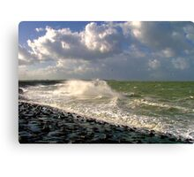 Water, Wind & Clouds Canvas Print