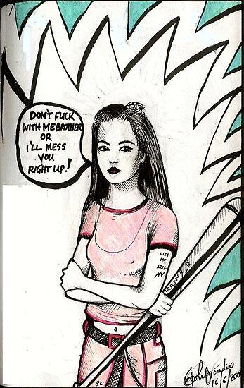 Paddy Lee ( Ex- Pink Power Ranger ) by John Dicandia  ( JinnDoW )
