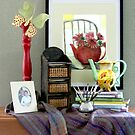 Teapot Whimsy by Brenda Dow