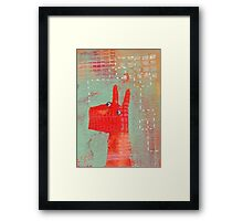 Bernard and the Midge Framed Print