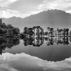 Buttermere Lake Reflection by AJ Airey