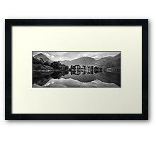 Buttermere Lake Reflection Framed Print