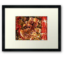 """A Kiss For Mickey"" Framed Print"