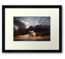 Divine Sunset  Framed Print