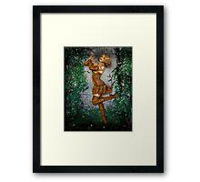 Dance of the Butterflies Framed Print