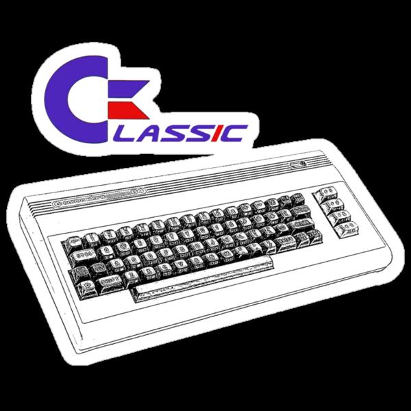 Classic Keyboard C64 by Steve's Fun Designs