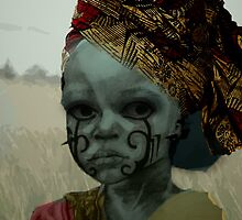 african girl by bassil