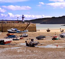 St Ives Harbour by Michelle Lovegrove
