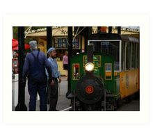 Come On, Do The Loco Motion With Me Art Print