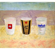 cappucino culture, pop art by beachshack