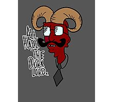 All Hail the Dork Lord Photographic Print