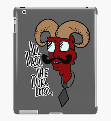All Hail the Dork Lord iPad Case/Skin