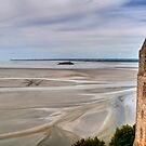 Low Tide at the Castle by April Anderson