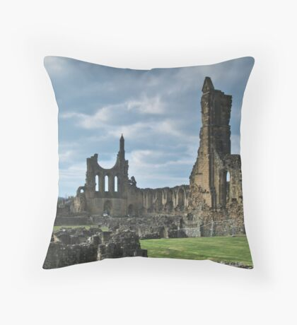 Byland Abbey Throw Pillow