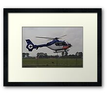 New Helicopter for Dutch police Framed Print