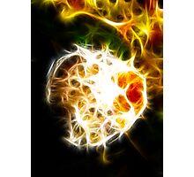 Internal flame Photographic Print