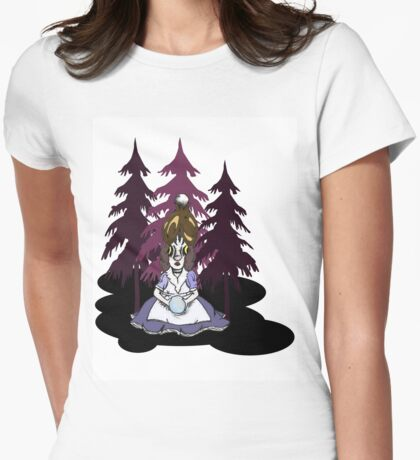 A Hopeless Orb Womens Fitted T-Shirt