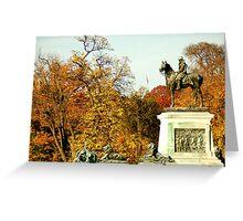 Fall in DC Greeting Card
