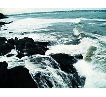Crash of The Waves Photographic Print