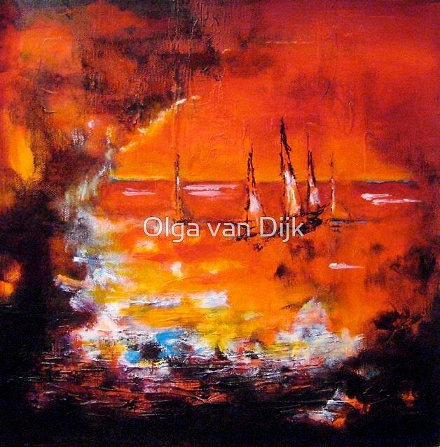 Sailing Home by Olga van Dijk