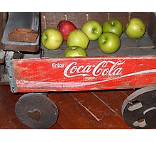 Apple Wagon Photographic Print