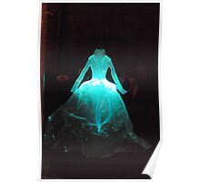 Fibre Optic Frock Poster