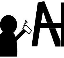 Alonzo Hernandez Art Logo by AlonzoHdz