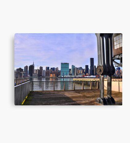Manhattan View From Long Island City Canvas Print