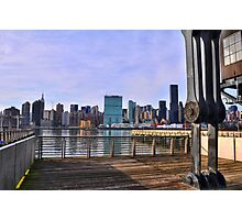 Manhattan View From Long Island City Photographic Print
