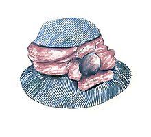 Summer Hat Photographic Print