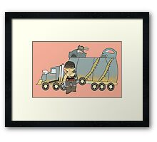 Out Here Everything Hurts Framed Print