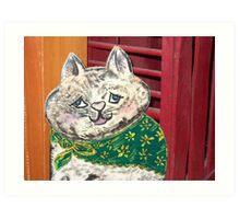 Rachel's Cat Art Print