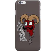 All Hail the Dork Lord iPhone Case/Skin