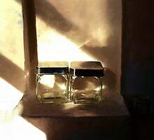 Glass Jars - Still Life by Barry W  King