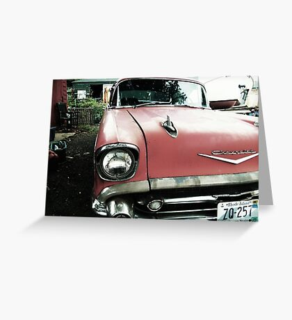 Oldies Front Greeting Card