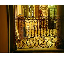 Wrought Iron Balustrade Photographic Print