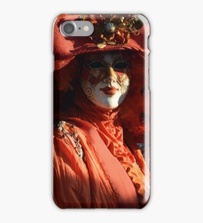 Dressed Up In Orange iPhone Case/Skin