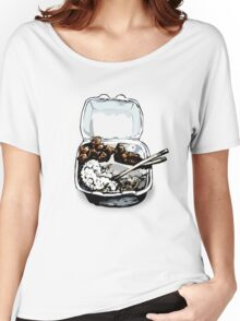 #12 Spicy Chicken Plate Women's Relaxed Fit T-Shirt